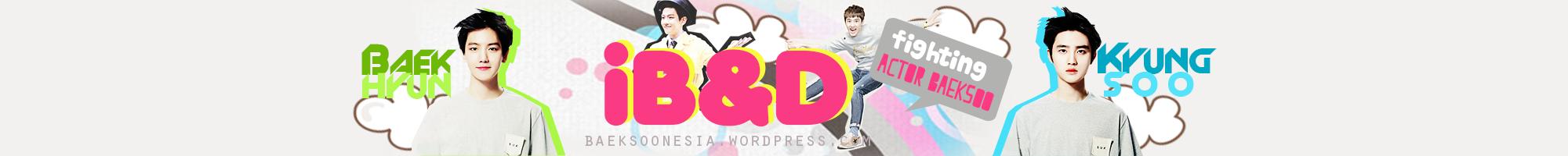 140609 LINE Sticker Update – EXO – iB&D   EXO BAEKHYUN & D O INDONESIA